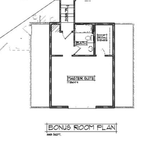 Birch Bonus Room Option