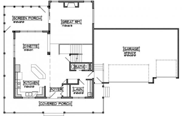 Caribou Main Floor