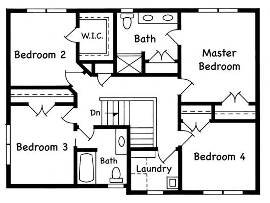 Manchester Upper Level 4 Bed Option