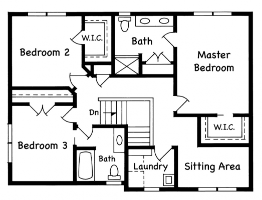 Manchester Upper Level 3 Bed Option