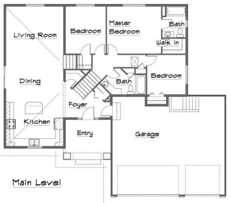 Westcliffe Main Level